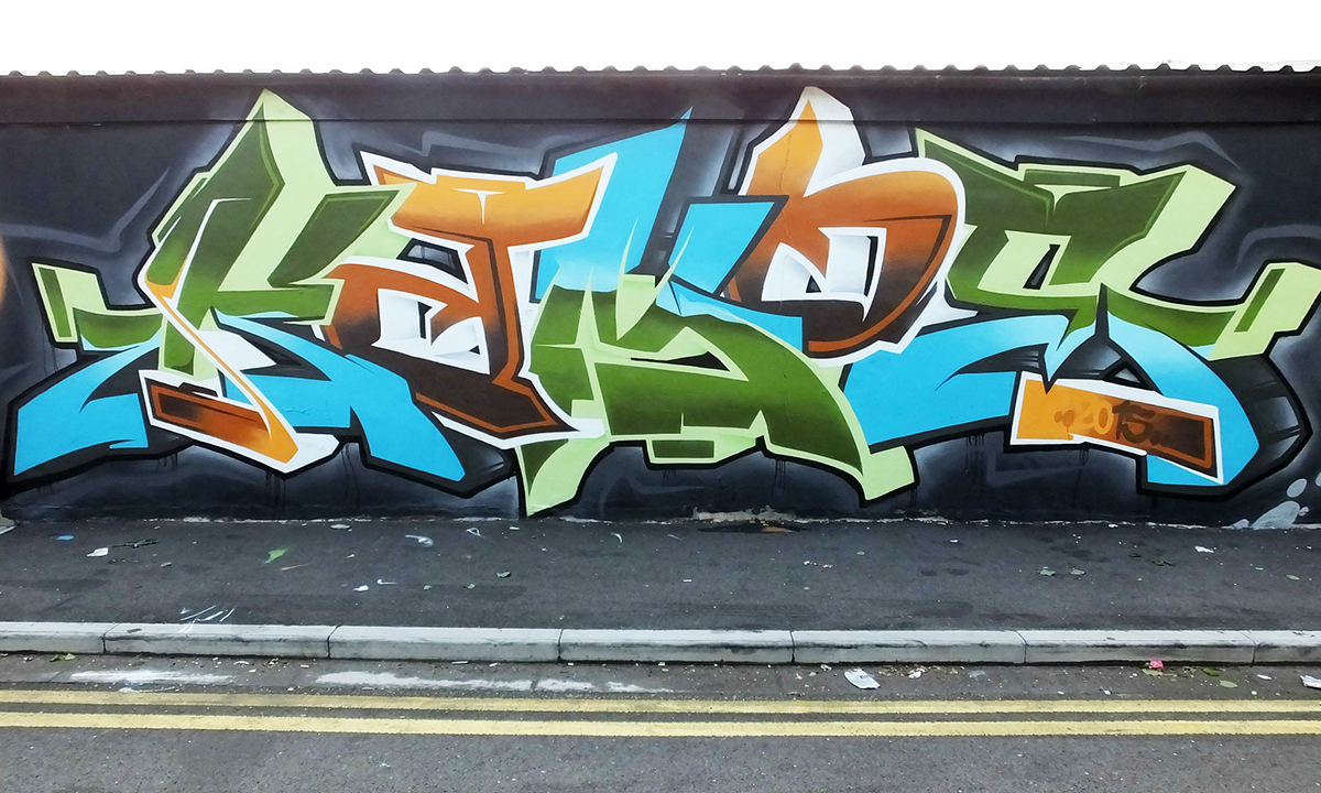Colours | CRUEL VAPOURS | UK Graffiti Art Crew | Graffiti Art Mural ...